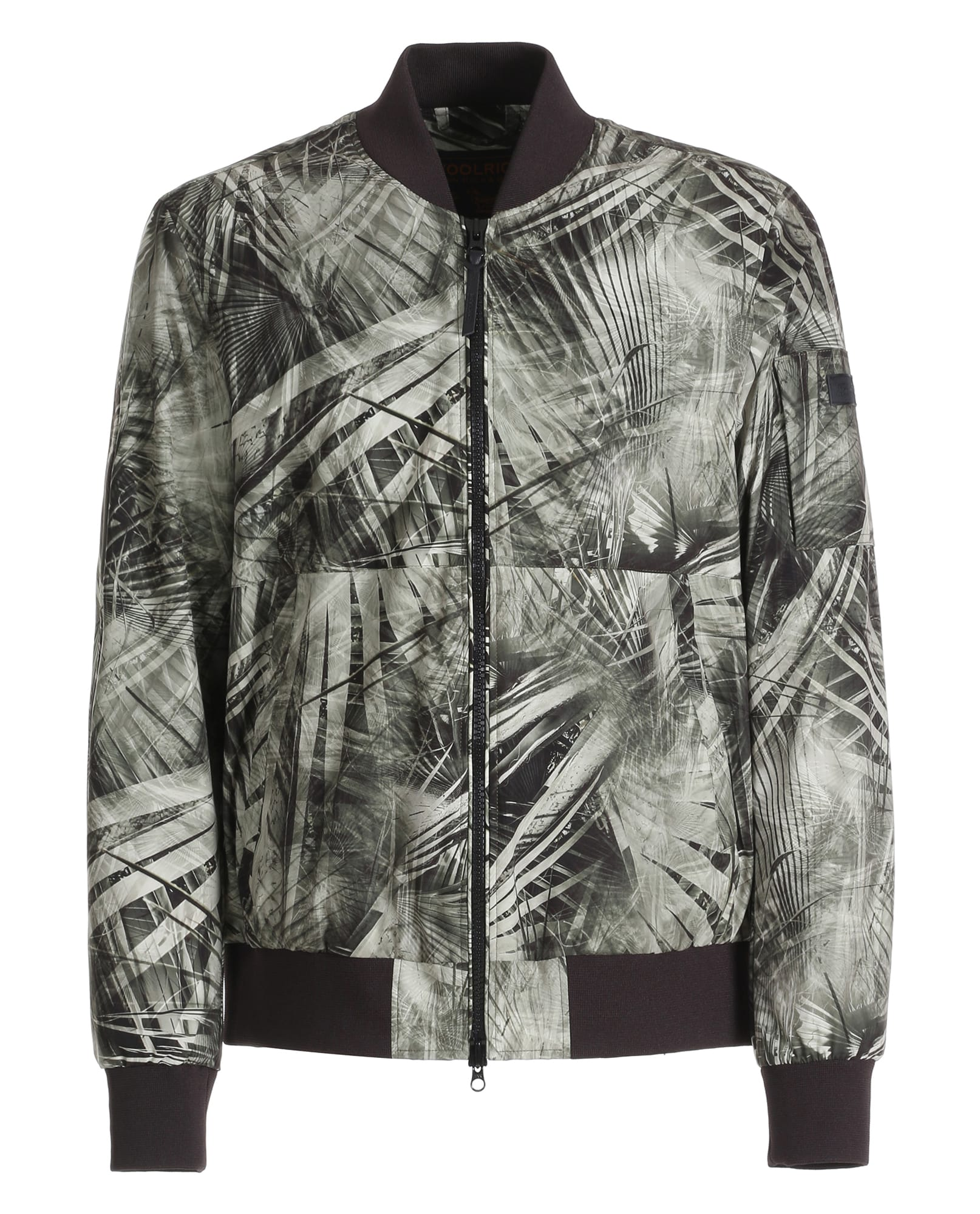 EAGLE PRINTED BOMBER