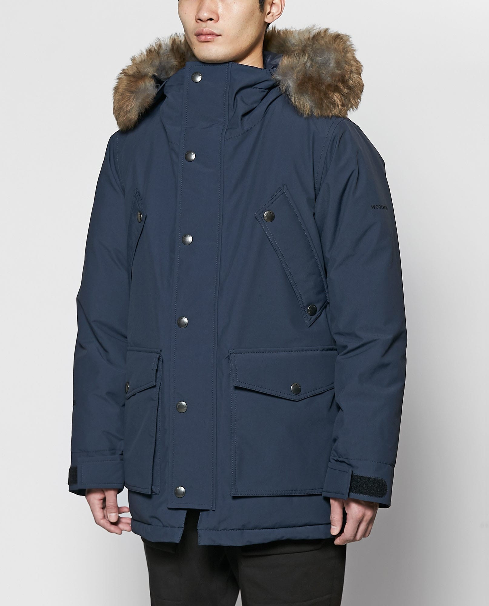 ARCTIC DOWN PARKA BYPRODUCT LAMB FUR