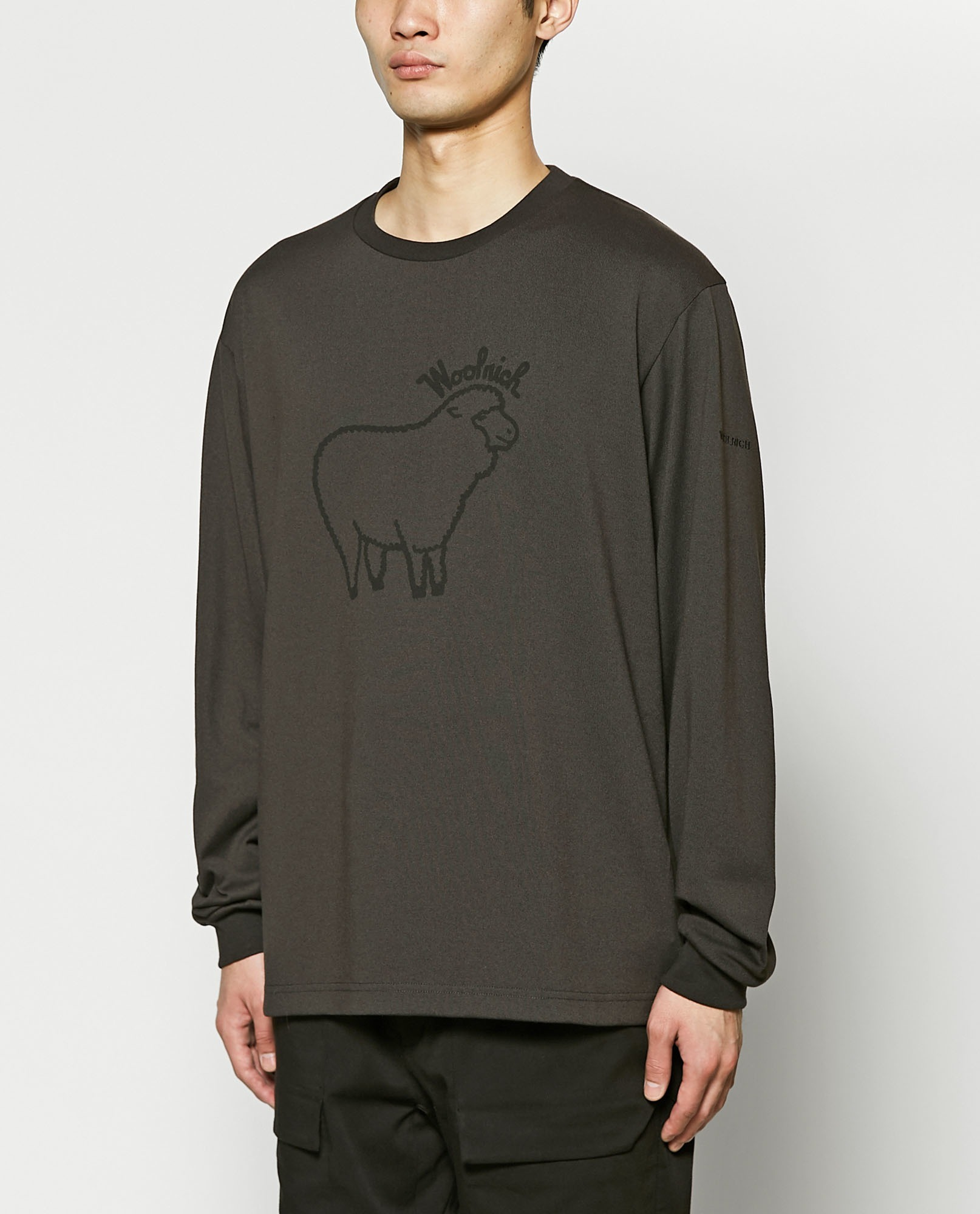 SHEEP LOGO L/S T-SHIRT