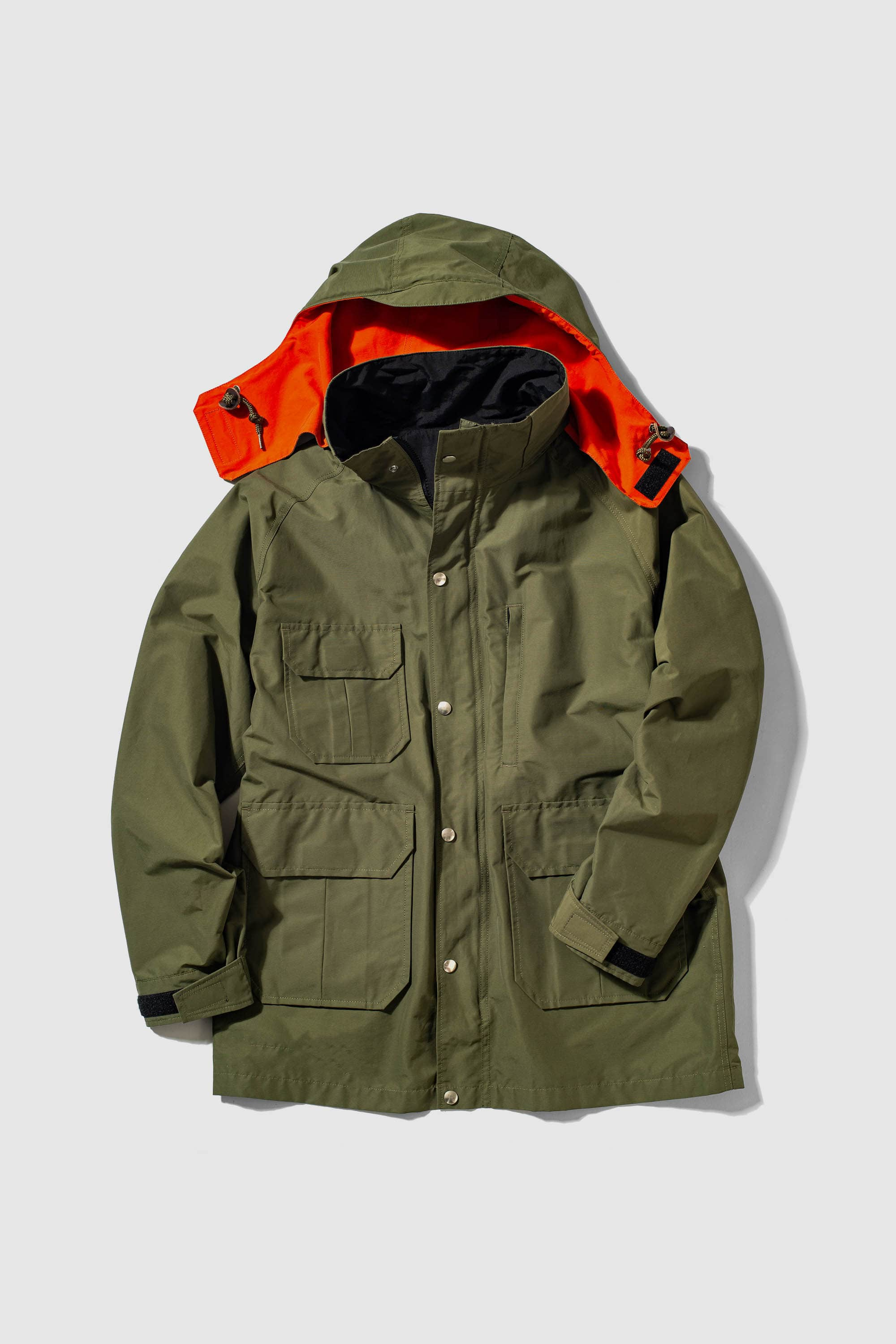 REVERSIBLE MOUNTAIN PARKA
