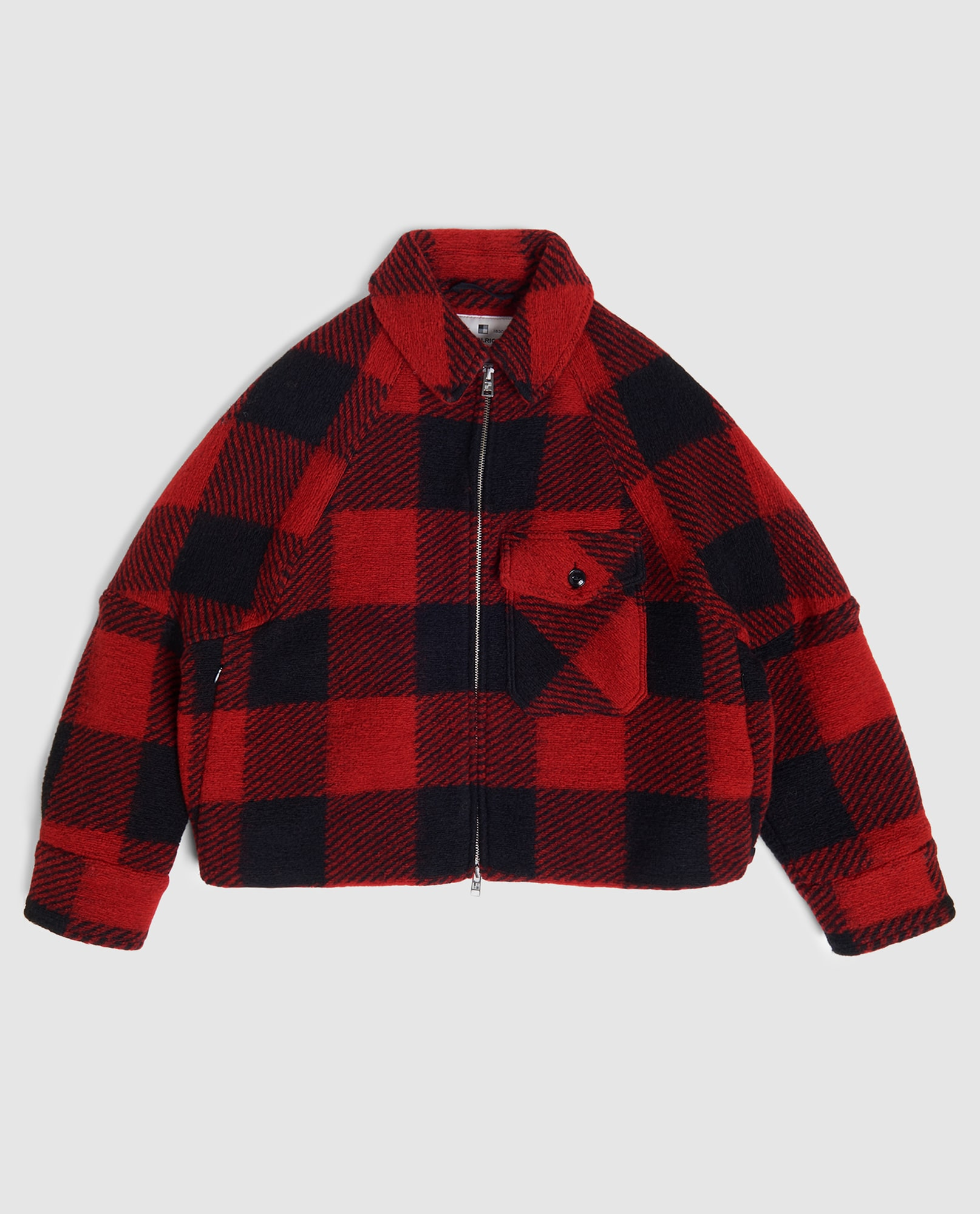 WOOLEN TIMBER OVER SHIRT
