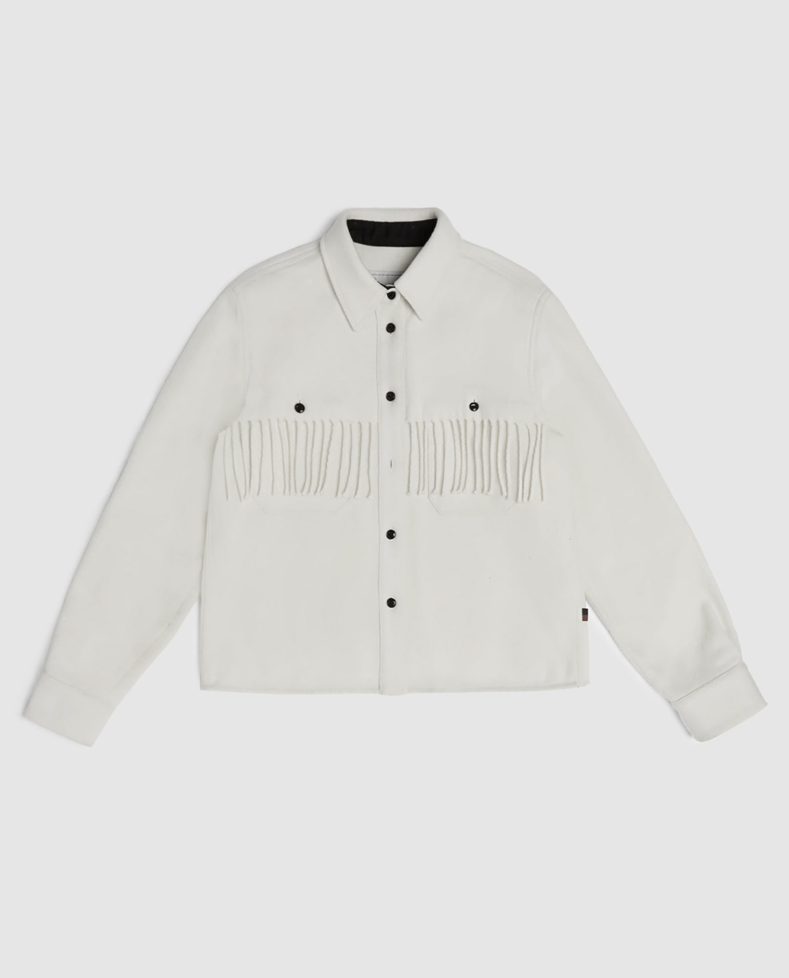 FRINGES STAG OVER SHIRT