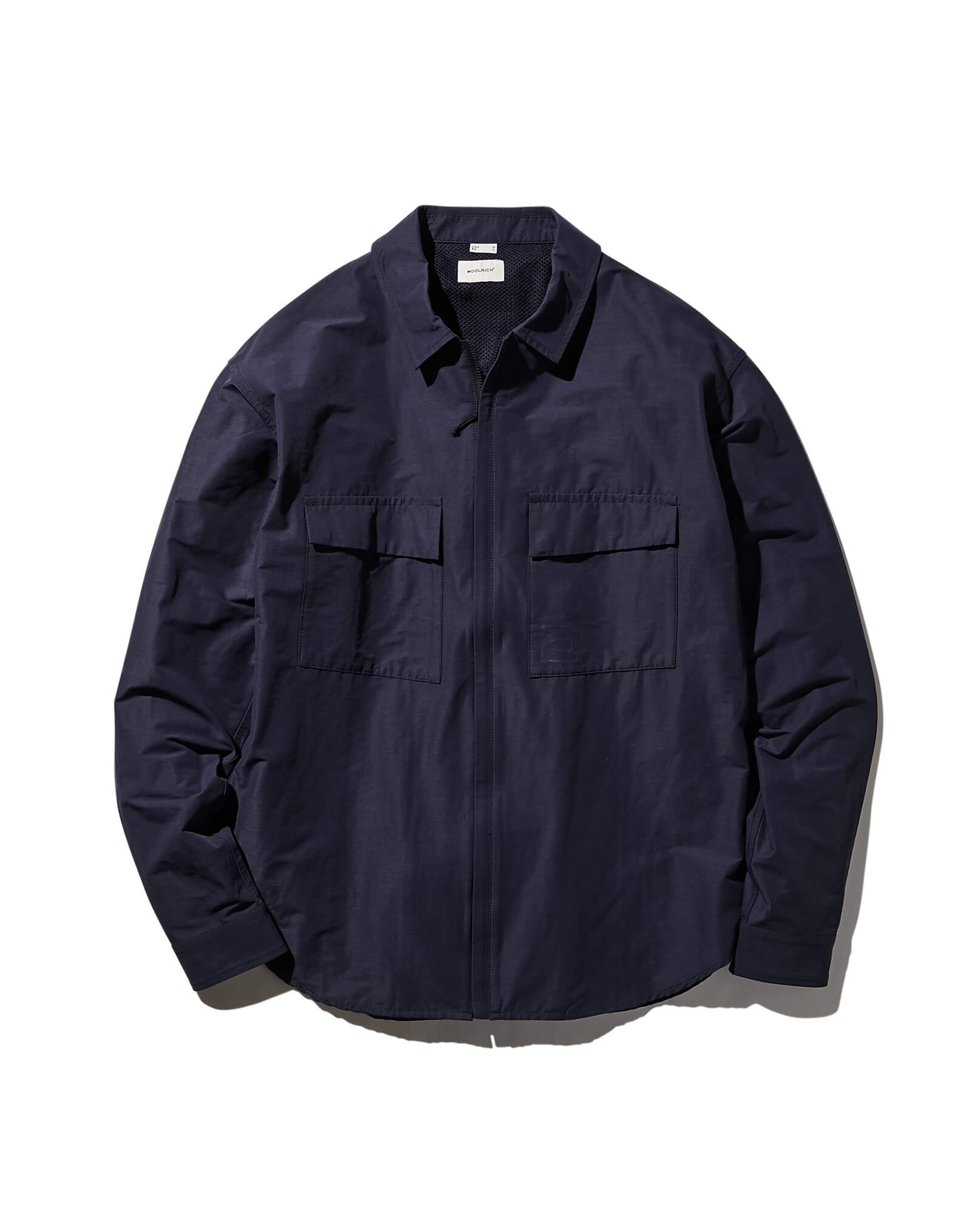 CORDURA×WOOL ZIP-UP SHIRT