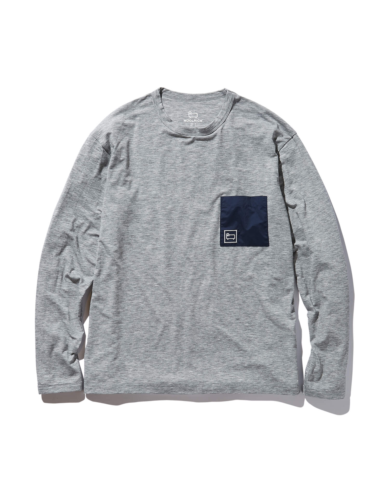 HIGH STRETCH MERINO LONG SLEEVE TEE