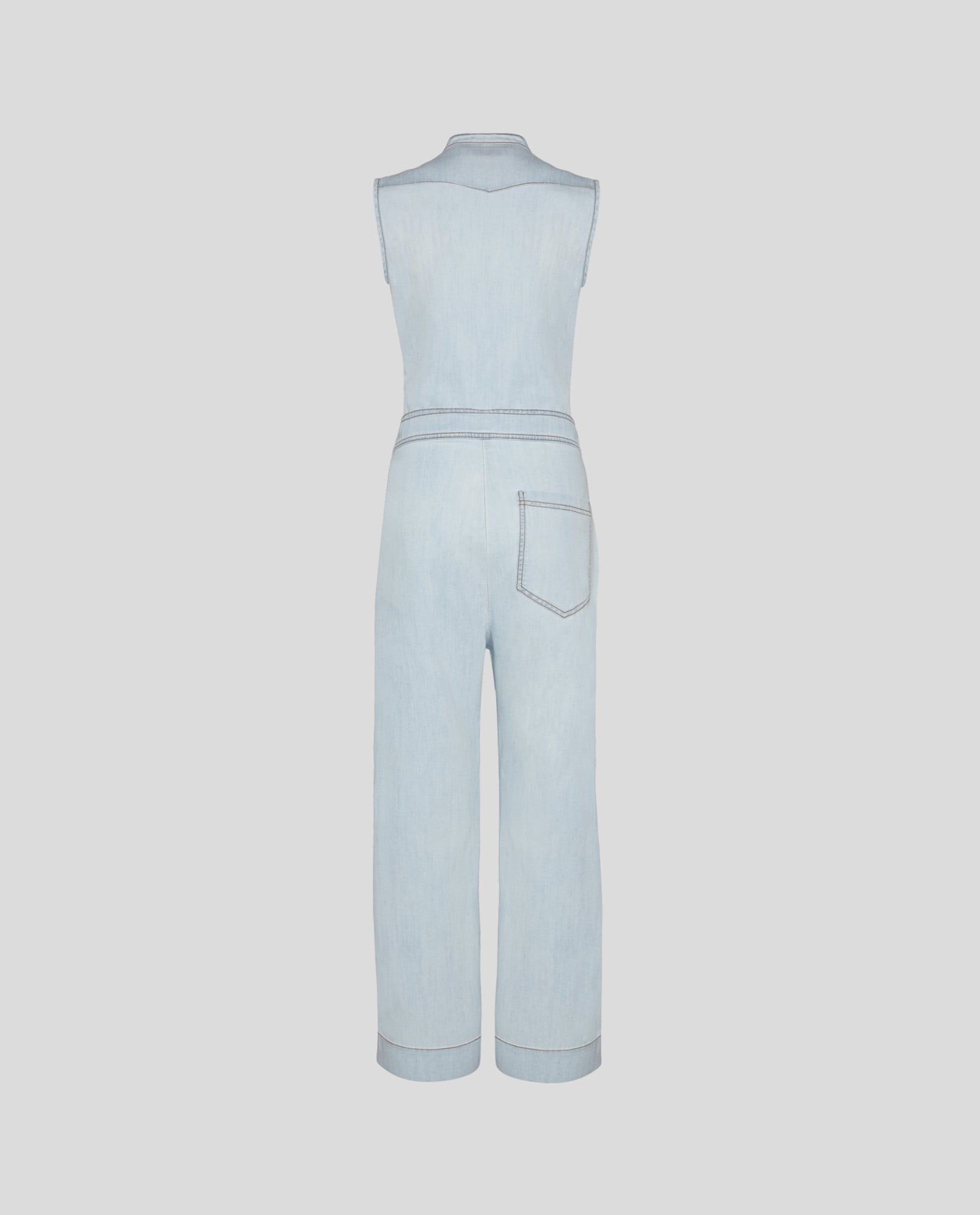LIGHT DENIM JUMPSUIT