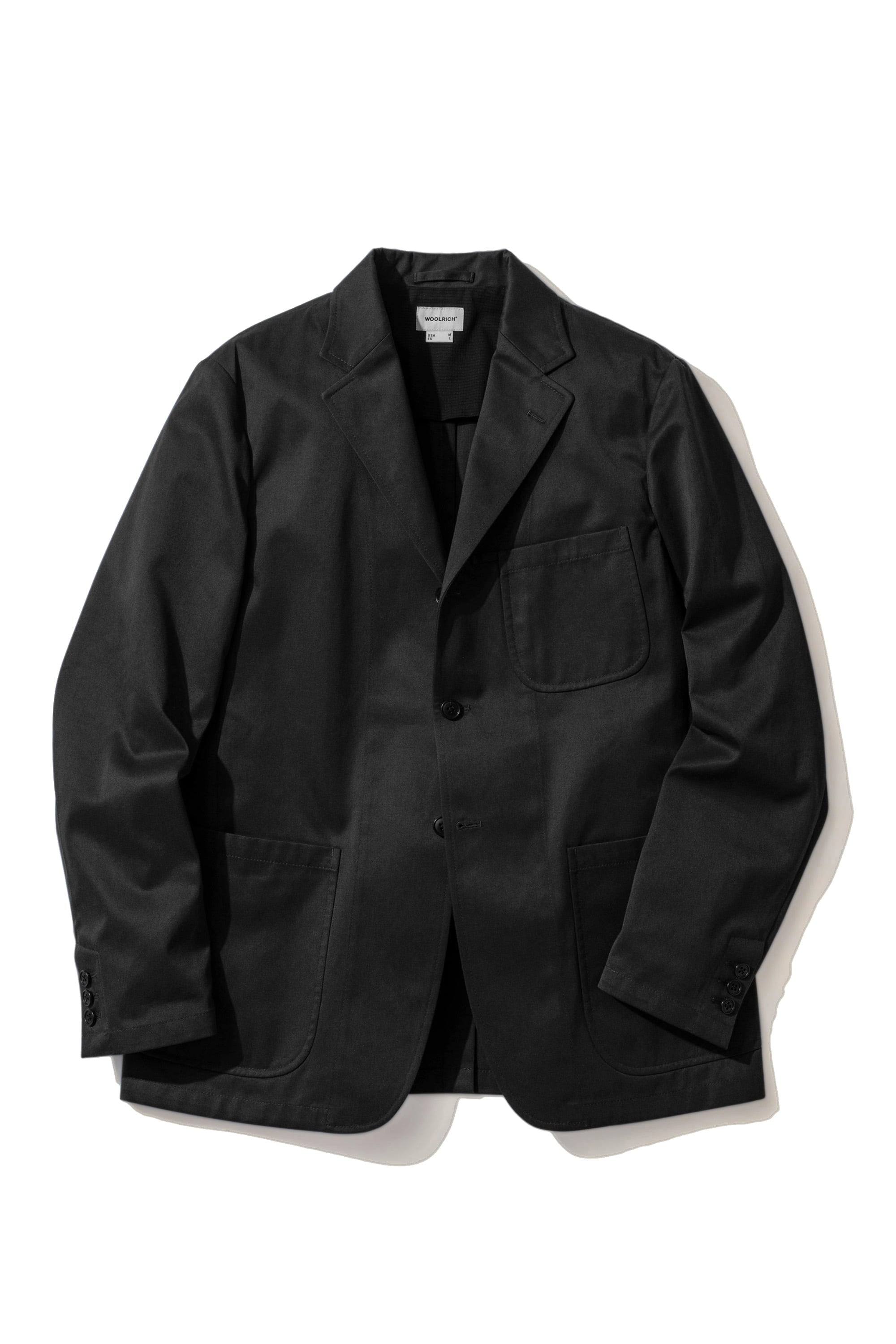 POLYESTER COTTON TWILL SETUP JACKET