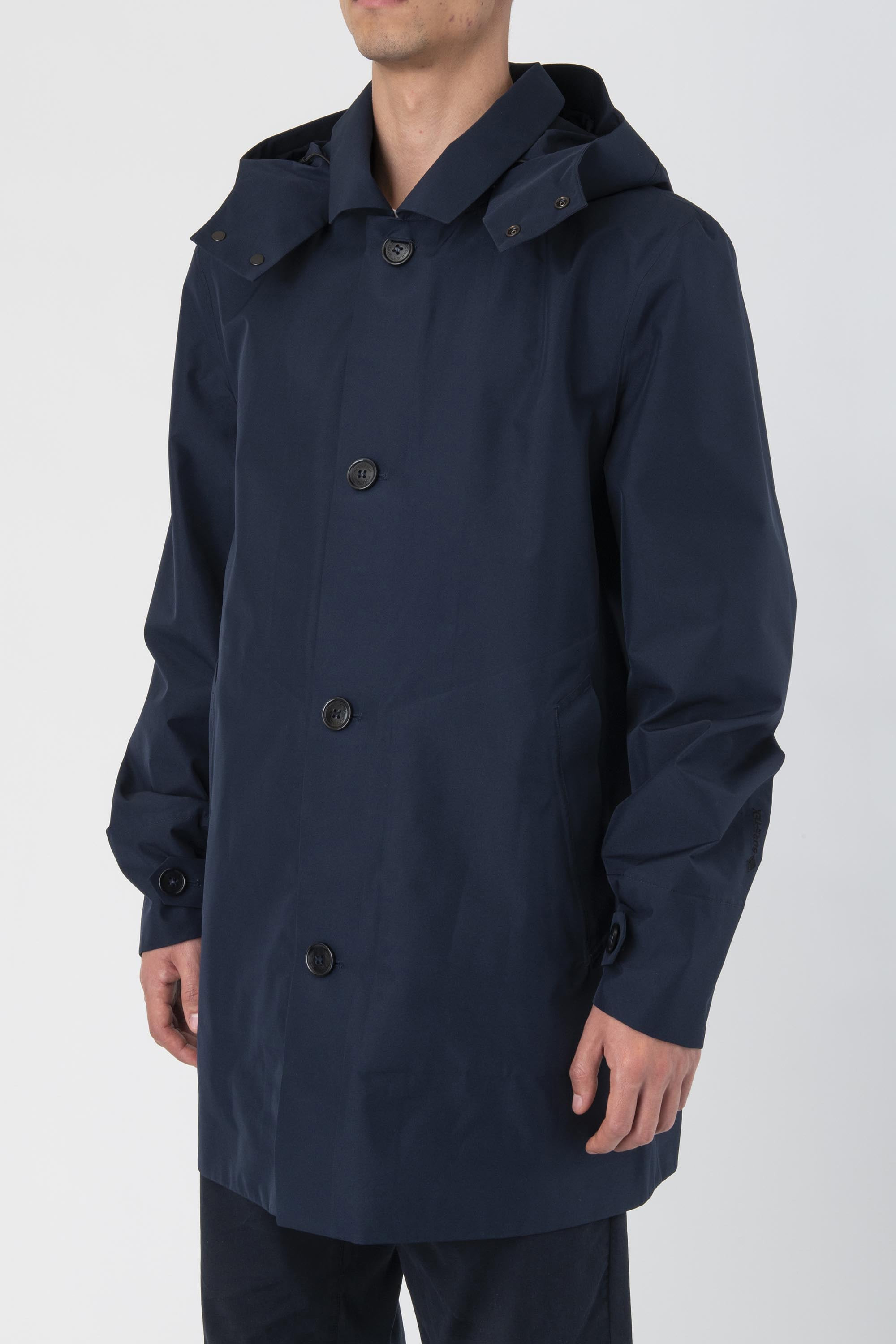 GTX DETACHABLE HOOD CARCOAT